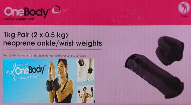 Obciążenie fitness 2x0,5kg. na nadgarstki i kostki
