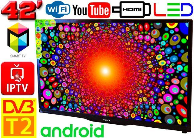 "Телевизоры SmartTV SONY 42"" 4K UHDTV, LED, IPTV, Android 9, T2, WI FI"