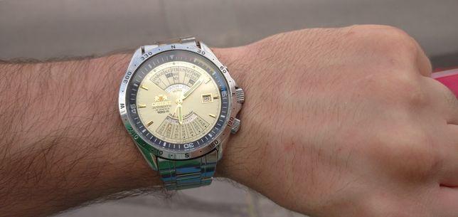 IDEALNY ORIENT zegarek cesarski patelnia nie Atlantic Seiko Citizen
