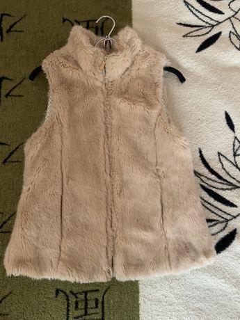 Жилетка меховая Zara