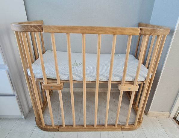 Кроватка детская приставная Поляна Сказок