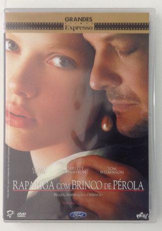 DVD Rapariga com Brinco de Pérola