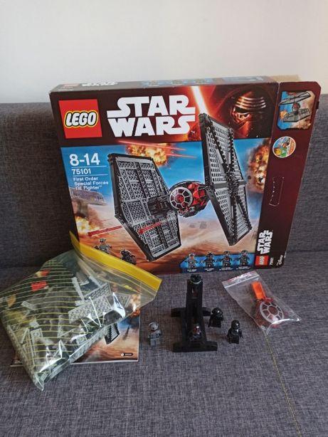 LEGO Star Wars 75101 - Special Forces TIE Fighter + dodatki