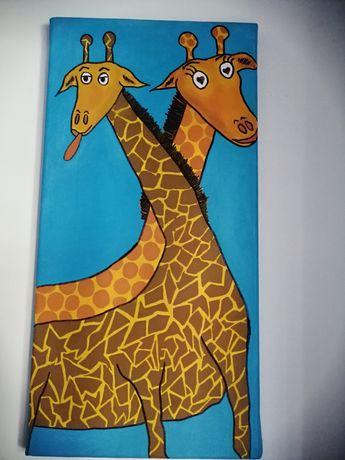 Quadro Girafas