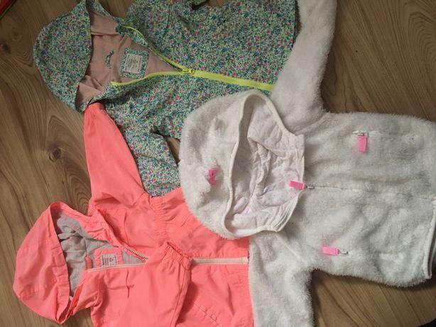 Kurtki wiosenne zara bluza cool club dla dziewczynki 92/98