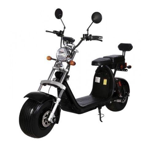 Scooter Elétrica Citycoco 1500W (Preto)