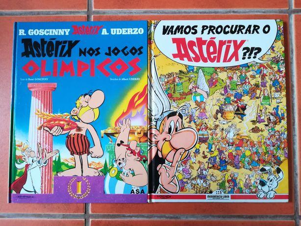 28 livros de Asterix Cartonados
