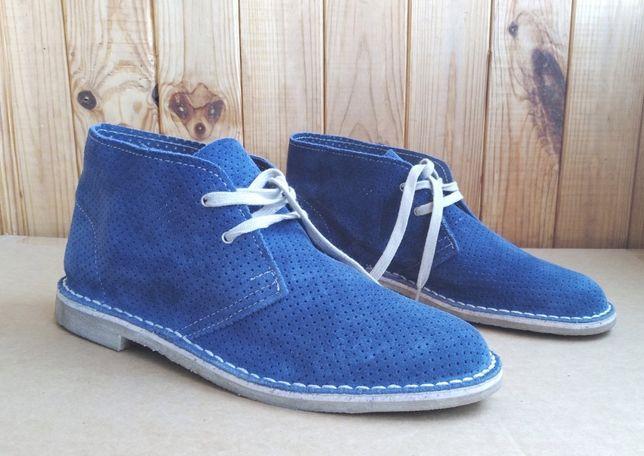 полностью кожаные дезерты испанские ботинки Stradock Lavorazione
