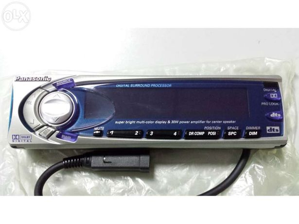 Processador audio digital 5:1 NOVO
