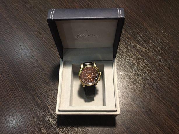 Продам мужские швейцарские кварцевые часы Atlantic (оригинал)