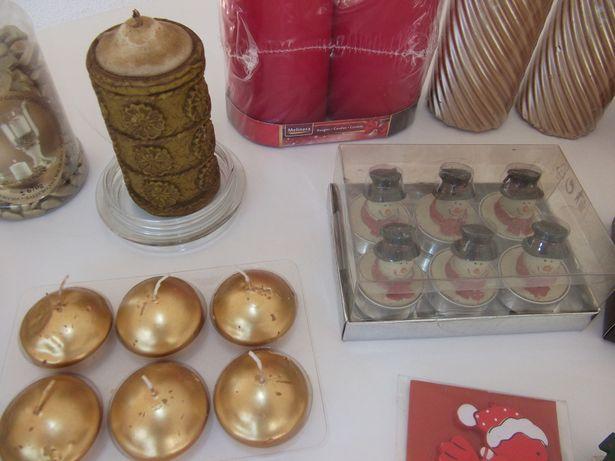 Velas e artigos decorativos para aniversários e Natal com OFERTAS!