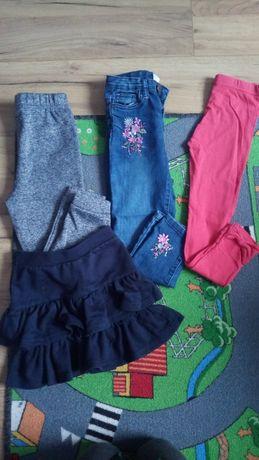 Spodnie i spódniczka rozmiar 110