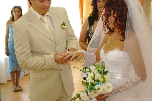Свадебный костюм L