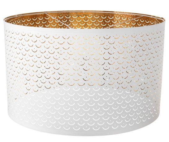 Candeeiro, Abajur, Luminária (branco & bronze/dourado) Ikea Nymo 59cm