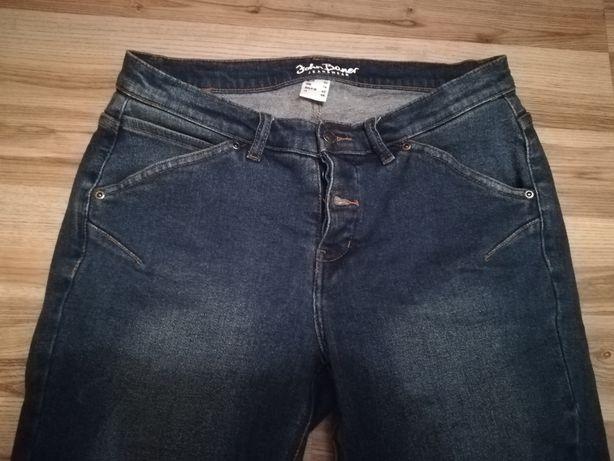 Spodnie jeansowe jeans Bonprix 42