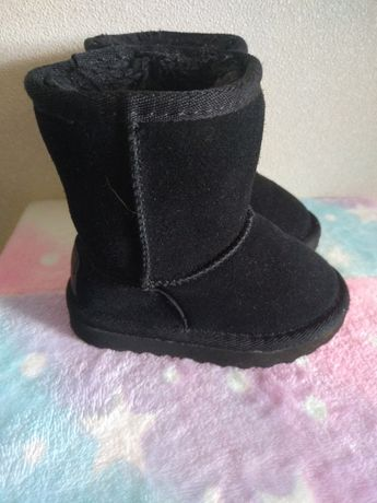 Ботинки Soulcal&Co зима 21.5 р-р как новые Замша