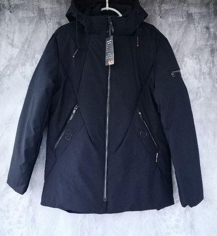 Куртка мужская зимняя теплая,длинная,тинсулейт,качество отличное
