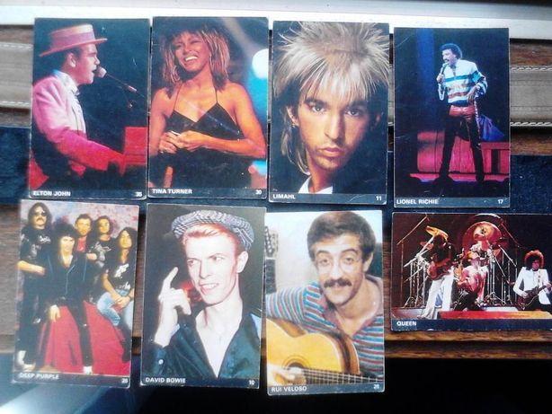 Calendarios musica anos 80