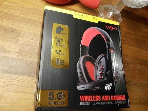 Słuchawki gamingowe bezprzewodowe -wireless