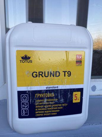 Грунтовка Тотус 5л, Totus ремонт, покраска стін