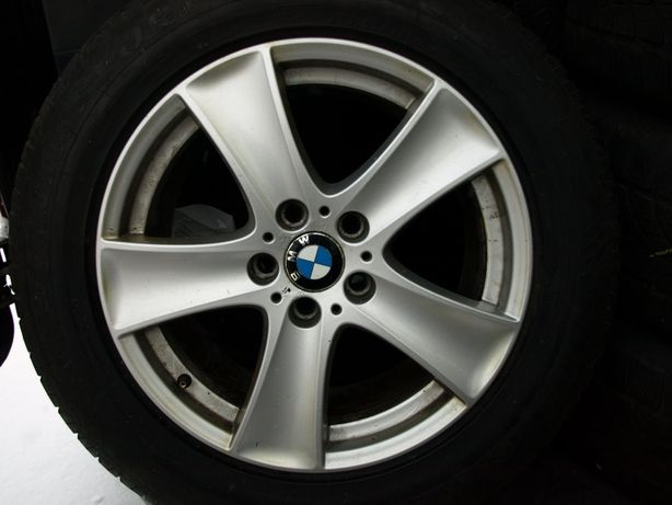 Bmw x5 e53 koła zimowe 8jx18 255x55x18 Dunlop 15r Oryginalne Komplet
