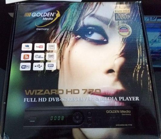 Tuner Golden Media WIZARD HD770 DVB-S2 Cameleon Conax TV NC+ Na kartę