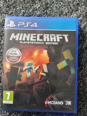 Minecraft PS 4 polska wersja