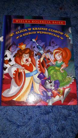 """Książka dla dzieci.""""Alicja w krainie czarów"""" """" O sześciu wędrowcach"""""""