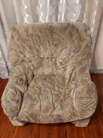 sprzedam używany fotel tapicerowany