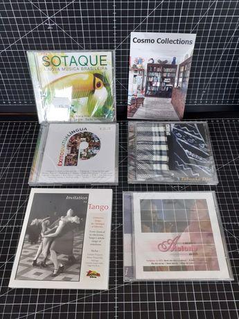 CDs novos selados Tabanka Djaz, Alcione, Tango, musica brasileira,