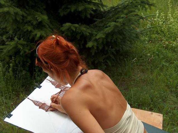 wakacyjna nauka rysunku, malarstaw w plenerze na śląsku i nie tylko