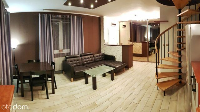 Wynajmę 2-poziomowy apartament 67m2 / ogród / gara