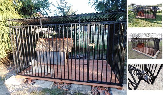 Kojec dla psa 3x2m, klatka, boks, zagroda, wiaty