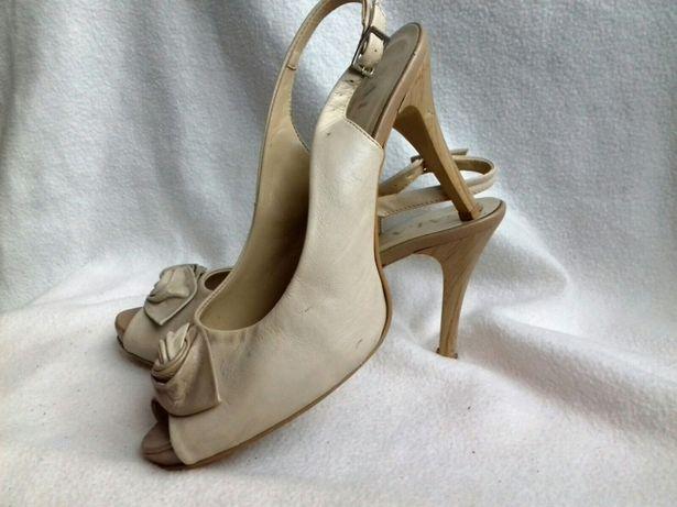 Buty szpilki sandały sandałki koturna na koturnie wesele bal impreza