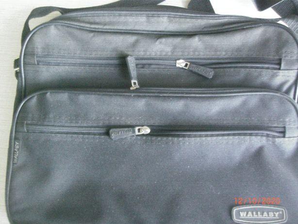 """мужская сумка """" Wallaby """" черная"""