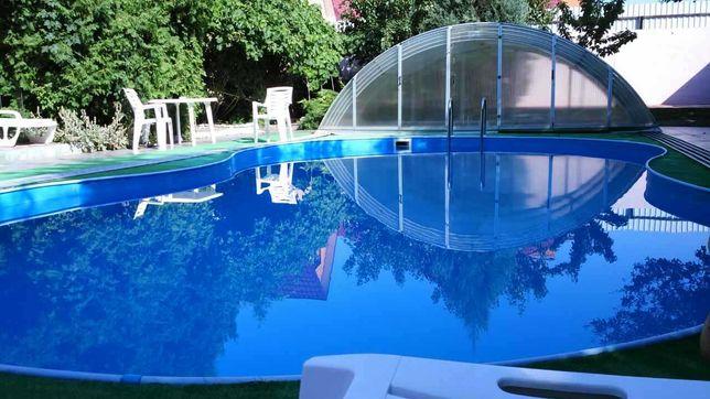 Дом под различные мероприятия с большим  бассейном!Банька на дровах.