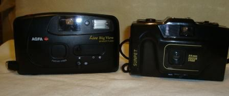 Aparat fotograficzny Sunpet 35mm Focus Free.