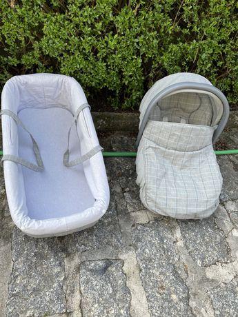 Alcofa + Babycoque da Bebe Confort