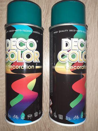 Farba w sprayu turkusowa 400ml