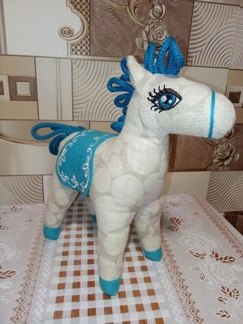 Игрушка Конь мягконабивная