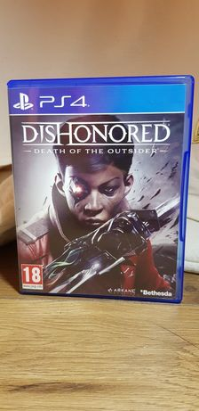 Dishonored -Death of The Outsider- PL na PS4