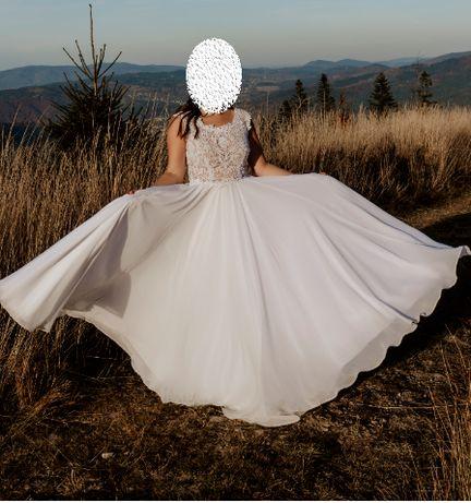 Okazja! Piękna, elegancka suknia ślubna