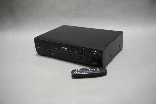 Magnetowid Philips VR250/58  Showview Video VHS  Sprawny Nagrywarka