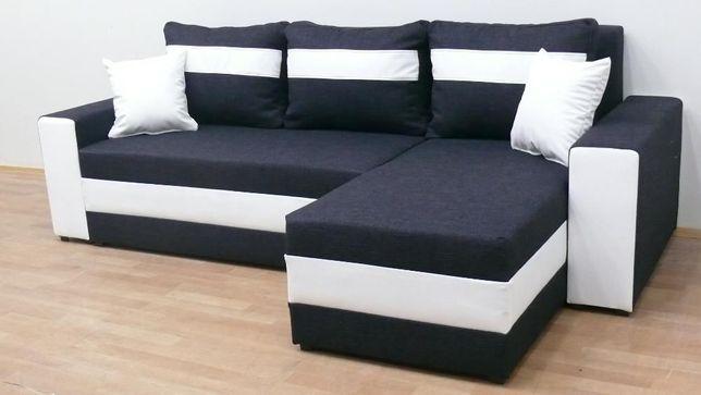 Darmowy transport Rogówka Narożnik sofa kanapa tapczan łóżko f spania