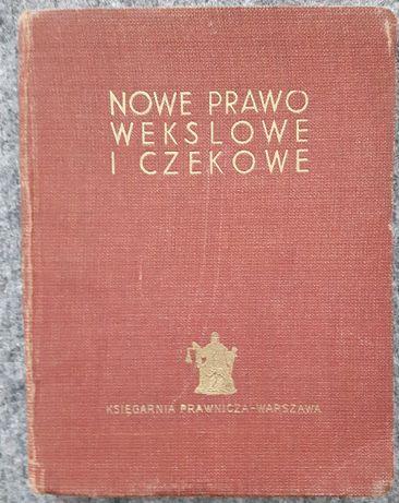 Nowe Prawo Wekslowe z 1936 r.