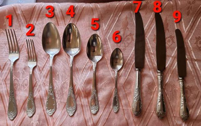 Мельхиоровые Вилки, ложки, ножи СССР Столовые приборы