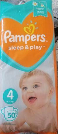 Подгузники Pampers 4 sleep and play