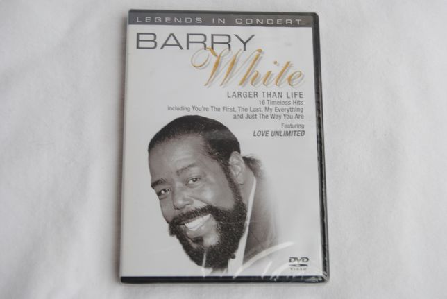 Barry White*Larger Than Life/DVD Nowa