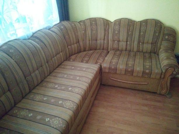 Narożnik, kanapa, sofa, łóżko + 2 fotele