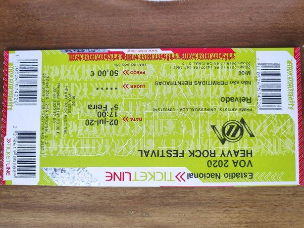 Bilhetes VOA 2022